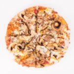 Pizza bianca Restaurante Atracón Express