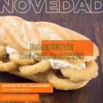 Baguette De Calamares Con Mahonesa